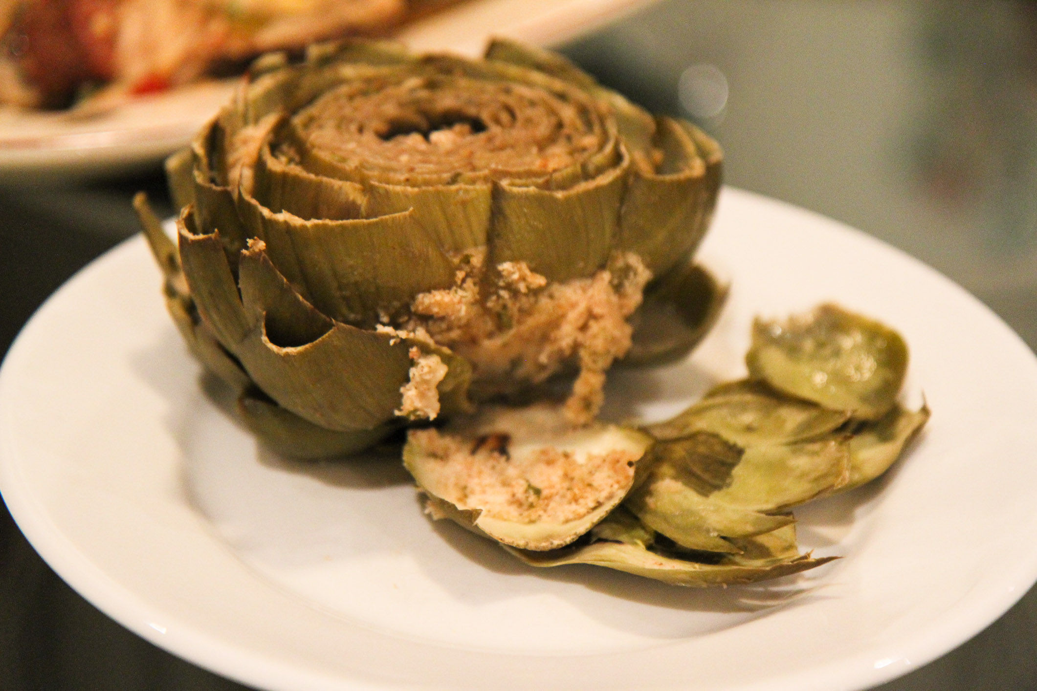 Italian Stuffed Artichokes Recipe — Dishmaps