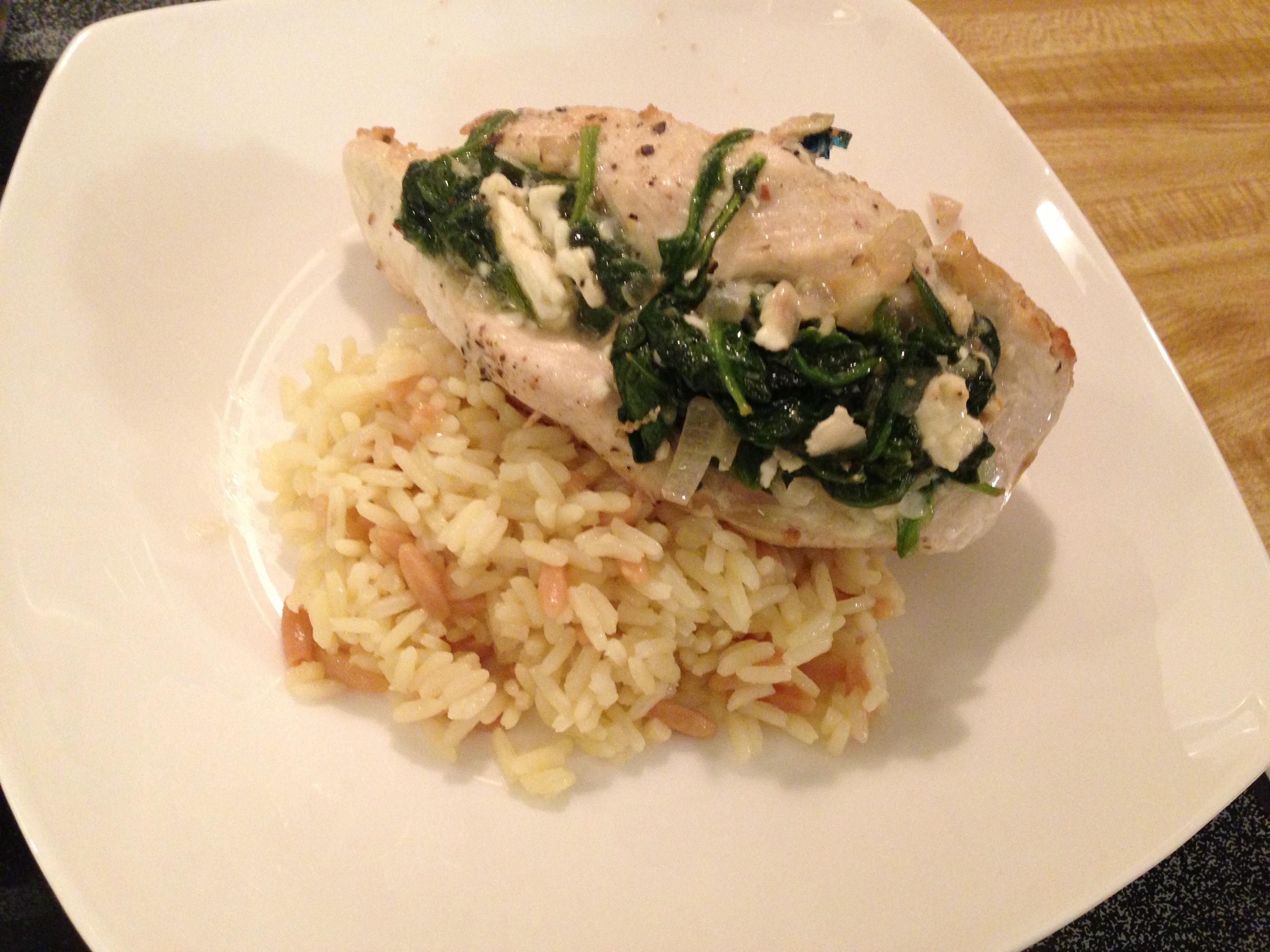 Spinach and Feta Stuffed Chicken – Jewtalian's Recipes