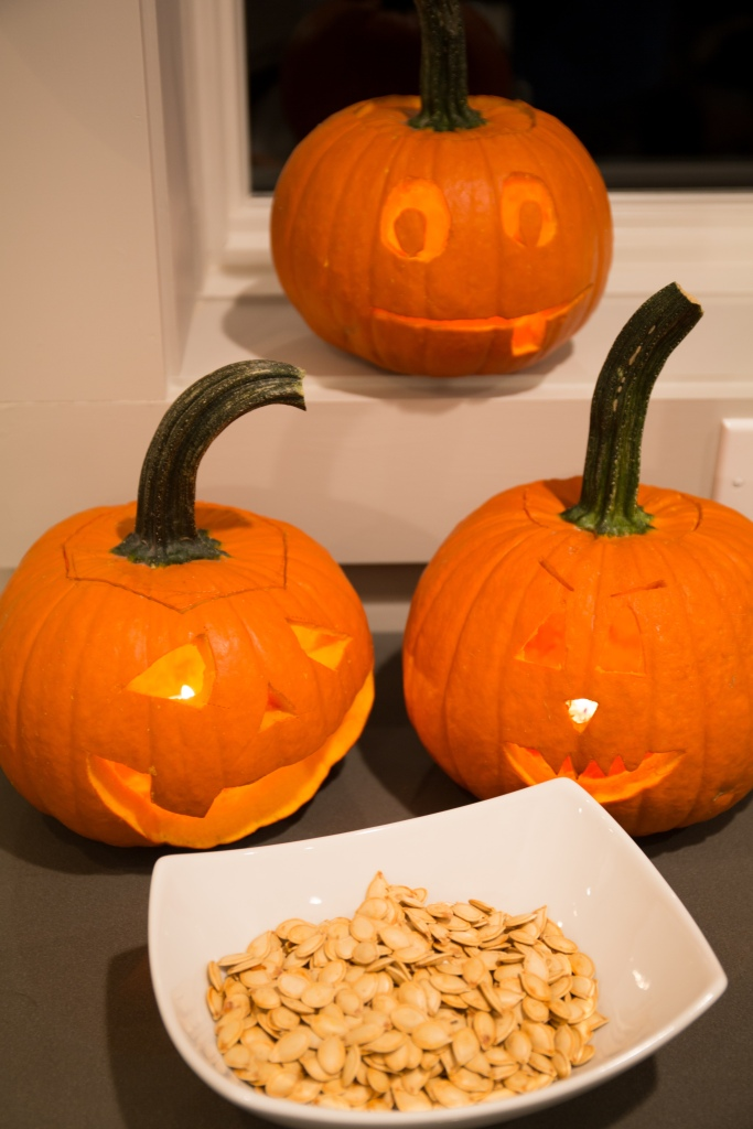 pumkins and seeds finished