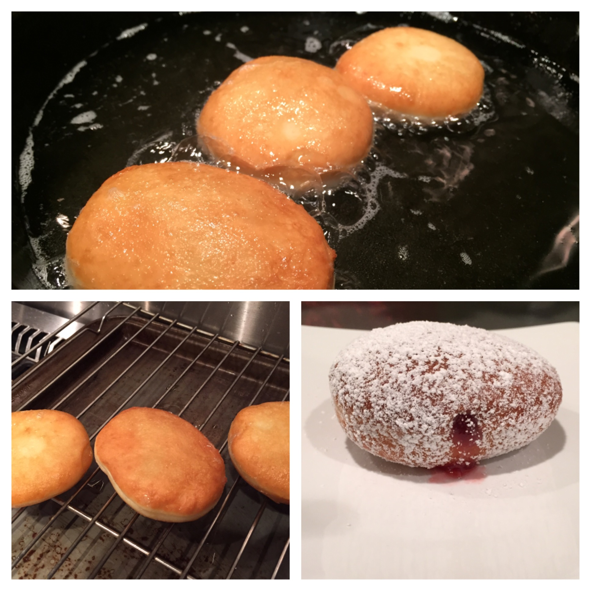 Homemade Jelly Donuts or Sufganiyot – Jewtalian's Recipes